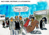 Cartoon: Westerwelle in Afghanistan (small) by Florian France tagged dirk,niebel,guido,westerwelle,teppichkauf,teppiche,aus,afghanistan,minister,kabul,besuch