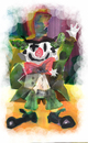 Cartoon: clown... (small) by ivo tagged wow