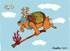 Cartoon: easter day (small) by ivo tagged wau