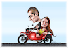 Cartoon: motorbike (small) by ivo tagged wow
