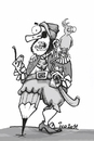 Cartoon: pirat (small) by ivo tagged wow