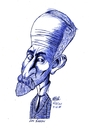 Cartoon: Lev Shestov - sketch (small) by Nayer tagged lev,shestov,writer,russia,russian,talal,nayer,sudan