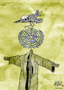 Cartoon: United Nations (small) by Nayer tagged united,nations,un