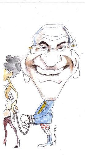 Cartoon: dsk (medium) by zed tagged monetary,caricature,portrait,international,france,kahn,strauss,dominique,fund