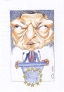 Cartoon: Jose Manuel Barosso (small) by zed tagged jose,manuel,barosso,portugal,eurpean,commission,president,politician,portrait,caricature