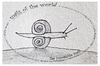 Cartoon: the impossible snail - no.8 (small) by schmidibus tagged schnecke,welt,unmöglichkeit