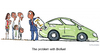 Cartoon: Cars Vs Hunger (small) by Frits Ahlefeldt tagged fuel,gasoline,cars,hunger,starvation,biodiversity,food,polution,crops