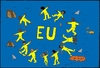 Cartoon: eu (small) by kader altunova tagged eu,europa,meer,hai,mittelmeer
