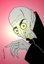 Cartoon: nosferatu (small) by kader altunova tagged nosferatu vampir blut untoter
