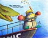 Cartoon: Maulwurf Titanic (small) by Jupp tagged maulwurf mole titanic schiff tauchen hai bomm jupp film kino blind helm könig der welt schnorchel taucherbrille brille taucher schnorcheln bug flossen wasser water deepsea sea ocean meer see die wrack cinema great klassiker