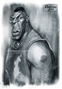 Cartoon: Mike Tyson (small) by slwalkes tagged miketyson,boxing,stephenlorenzowalkes,digitalpainting,portrait,wacom