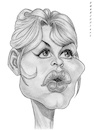 Cartoon: Brigitte Bardot (small) by shar2001 tagged caricature,brigitte,bardot