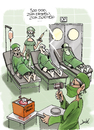 Cartoon: Organhandel (small) by andre sedlaczek tagged organspende,organhandel,spender