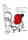 Cartoon: pisnicht (small) by studionuts tagged chicken,erotic,cartoon,nuts