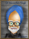 Cartoon: Dr. Manmohan Singh - Caricature (small) by gursharanthecartoonist tagged singh,is,king,caricature