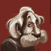 Cartoon: Caricature of Albert Einstein (small) by Toni DAgostinho tagged einstein