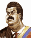 Cartoon: Nicolas Maduro (small) by horate tagged politic