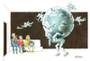 Cartoon: Atlas (small) by ozbek tagged earth,environment