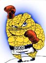 Cartoon: Superhero series THE THING (small) by subwaysurfer tagged cartoon,comics