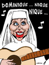 Cartoon: Apres soeur Sourire ... (small) by CHRISTIAN tagged anne,sinclair,dsk