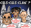 Cartoon: CULS-CULS-CLAN  ... (small) by CHRISTIAN tagged dsk,tron,lang