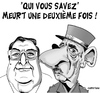 Cartoon: hommage a henri tisot ... (small) by CHRISTIAN tagged de,gaulle,tisot