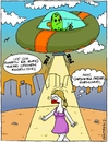 Cartoon: Bazaar (small) by gultekinsavk tagged pazar,bazaar,telaportation,power,energy,enerji,ufo,alien