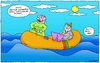 Cartoon: Towel (small) by gultekinsavk tagged towel,havlu,deniz,sea,diver,boat,bot,mother,anne,sweat,ter