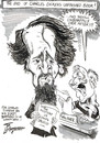 Cartoon: CHARLES DICKENS (small) by Tim Leatherbarrow tagged charles,dickens,mysteryofedwarddrood,books,author,writing
