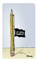 Cartoon: Je suis Charlie (small) by FEICKE tagged charlie,hebdot,feicke,satire,magazin,cartoon,terror,je,suis,beileid,solidarität,fraternite,freiheit