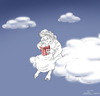 Cartoon: ... (small) by Elkin tagged god eternity universe