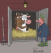Cartoon: DNA horses (small) by Elkin tagged horse,meat,beef,dna