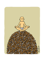 Cartoon: No Smoking 1 (small) by Vhrsti tagged cigarettes,smoking,meditation