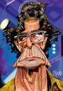 Cartoon: Lou Reed (small) by Russ Cook tagged lou,reed,the,velvet,underground,singer,guitar,guitarist,vocals,frontman,musician,artist,performer,caricature,famous,metal,machine,music,perfect,day,transformer,cartoon,vector,portrait,digital,illustration,celebrity,zeichnung,karikatur,karikaturen