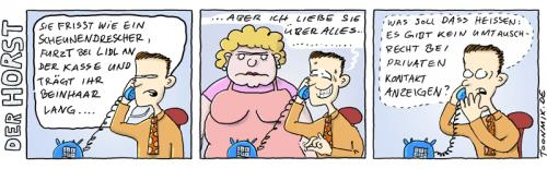 Cartoon: Emanzipation (medium) by Toonmix tagged emanzipation,männer,frauen,horst,rollentausch