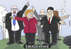 Cartoon: Energiewende (small) by Toonmix tagged merkel,gabriel,altmaier