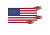 Cartoon: Stars and Network Cables 1 (small) by Erwin Pischel tagged stars,and,stripes,telefon,abhörzentrale,prism,gchq,fbi,cia,nsa,tempora,bnd,geheimdienst,überwachung,privatsphäre,datenschutz,us,flagge,big,brother,email,patriot,act,snowden,whistleblower,network,cable,totalitarismus,facebook,bespitzelung,google,pischel