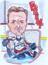 Cartoon: Brent Johnson (small) by PaulN420 tagged nhl,washington,capitals,hockey,brent,johnson
