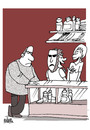 Cartoon: Poor service (small) by martirena tagged service,coustomer,establishments
