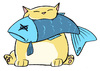 Cartoon: Eat more fish ! (small) by katchina tagged cat,fish