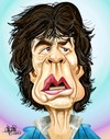 Cartoon: Mick Jagger (small) by Mario Lacroix tagged mick,jagger,rolling,stones