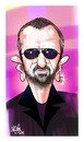 Cartoon: Mr Starr (small) by Mario Lacroix tagged musician,beatles,ringo,fab,four