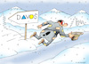 Cartoon: Davos (small) by Dubovsky Alexander tagged policy,forum,business,investment,davos