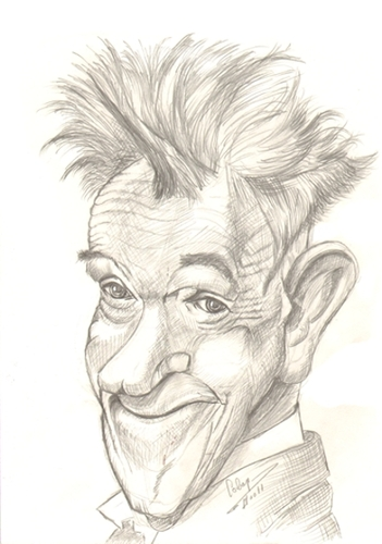 Cartoon: Stan Laurel (medium) by cabap tagged caricature