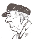 Cartoon: Pablo Neruda (small) by cabap tagged caricature