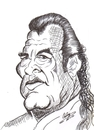 Cartoon: Steven Seagal (small) by cabap tagged caricature