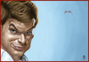 Cartoon: Dexter Morgan (small) by szomorab tagged dexter,morgan