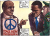 Cartoon: Hello Mr. Obama (small) by Rainer Ehrt tagged obama,president,military,army,peace