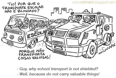 Cartoon: Valores (medium) by Wilmarx tagged descaso