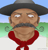 Cartoon: Gaucho connected (small) by Wilmarx tagged gaucho,internet,email